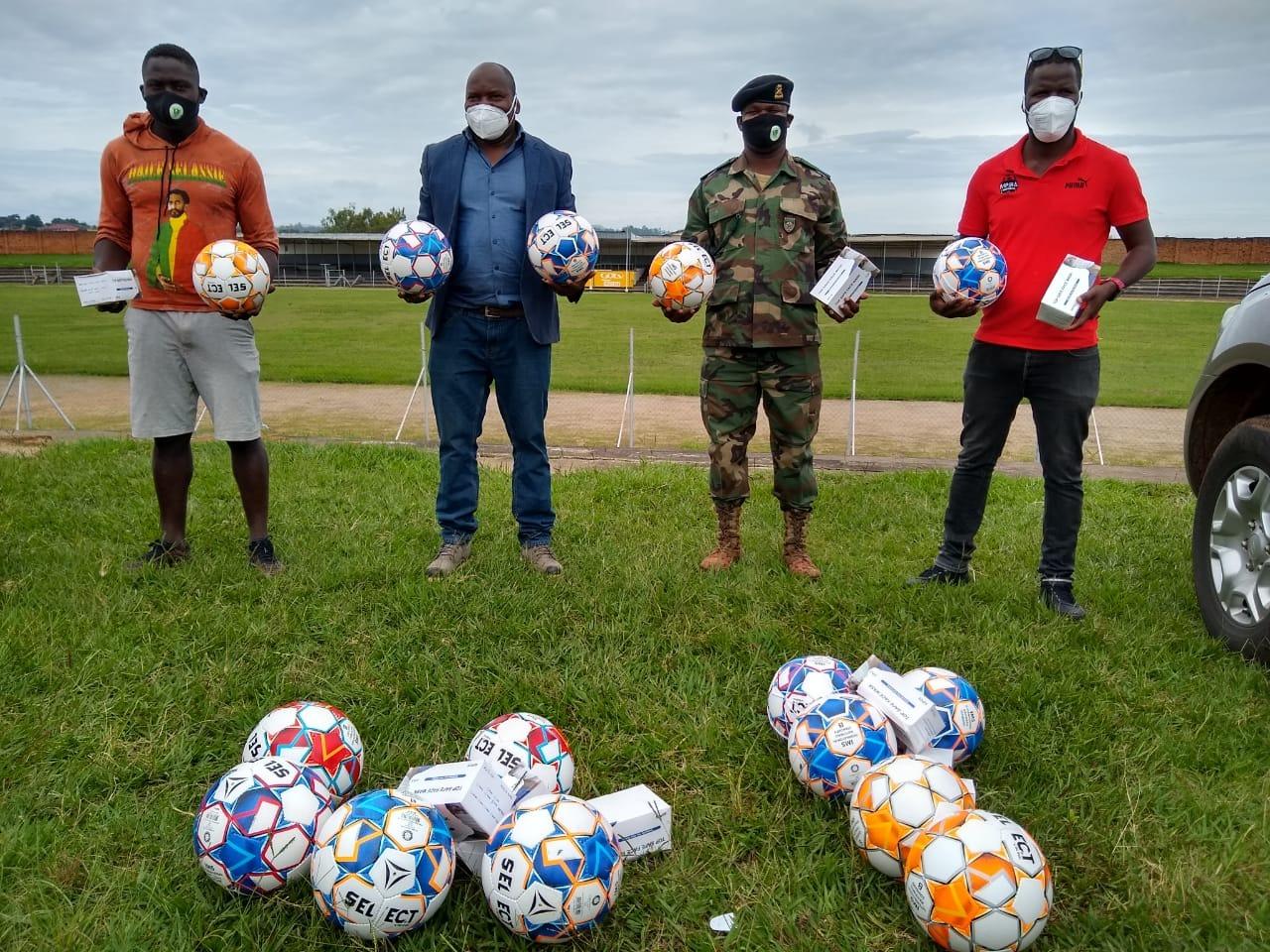 Mpira Mmudzi Mwathu Donates to North League Teams